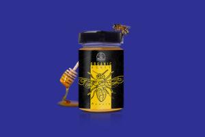 veste-grafica-per-vasetto-di-miele-biologico