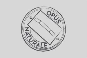 disegno logo per opus naturale lavorazioni in cocciopesto