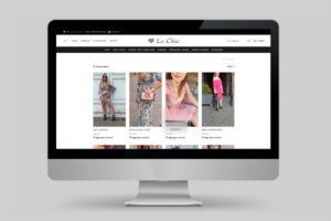 sito web di Le Chic Parma